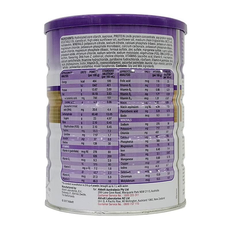 Mua sữa pediasure Úc mẫu mới 2020 (nắp tím) hộp 850 gram