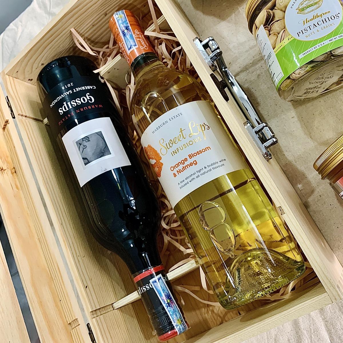Rượu vang trắng Úc Sweet lips  premium