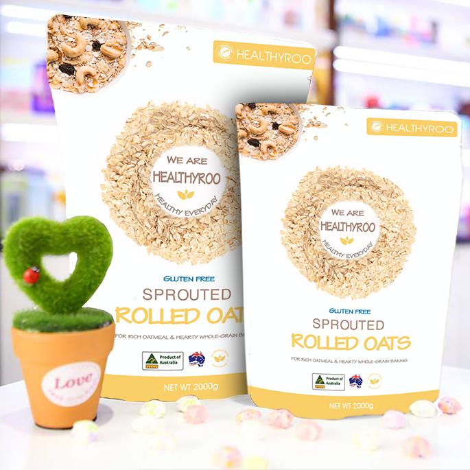 Yến mạch cán mỏng Úc Healthyroo gói 2kg ShopNhobonmua - Giảm cân hiệu quả, tiết kiệm hơn 30%