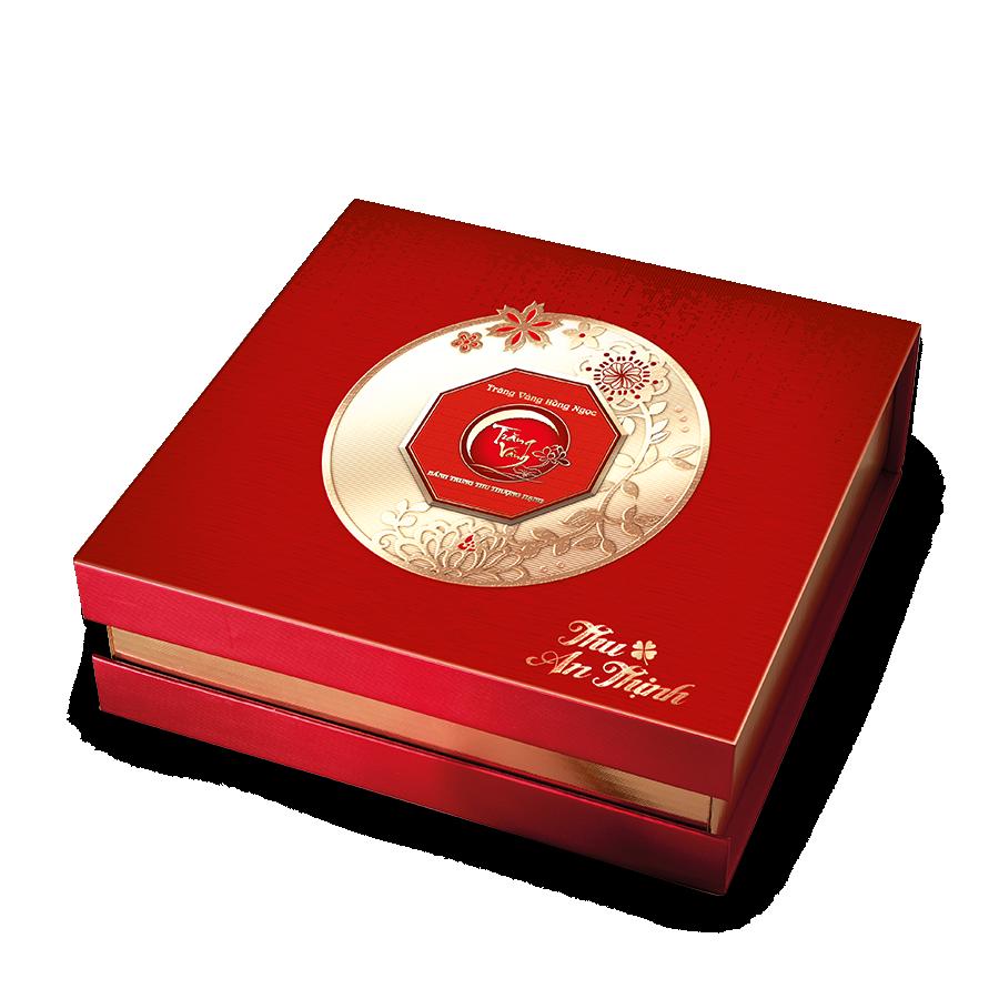 Hồng Ngọc An Thịnh Đỏ - Bánh trung thu trăng vàng