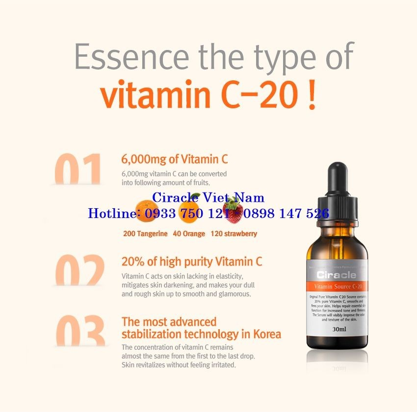 Ciracle Vitamin Source C-20