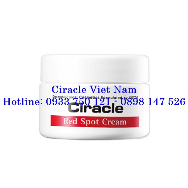 Kem Thuốc Đặc Trị Mụn Đỏ Ciracle Red Spot Cream