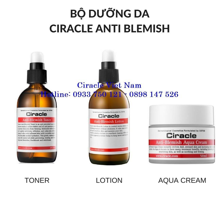Kem dưỡng dành cho da dầu mụn Ciracle Anti-Blemish Aqua Cream