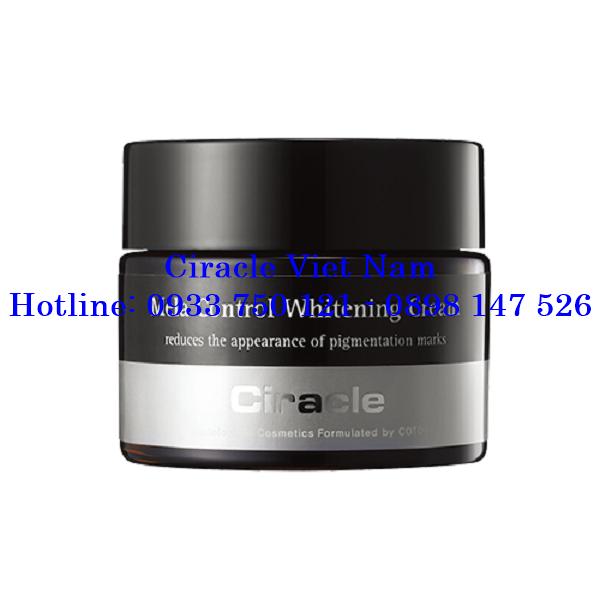 Kem Dưỡng Trắng Da Ban Đêm Ciracle Mela Control Whitening Cream