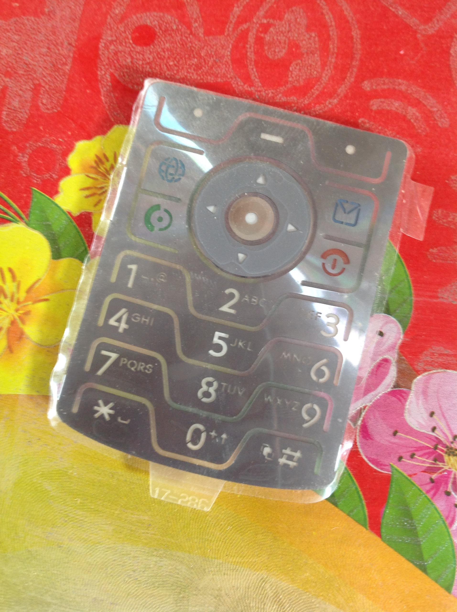 Phím Motorola v3i