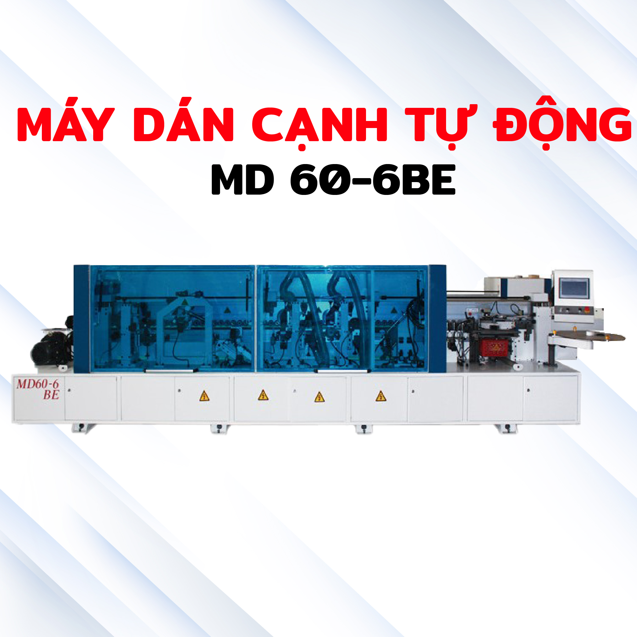 Máy dán cạnh tự động MD60-6RE