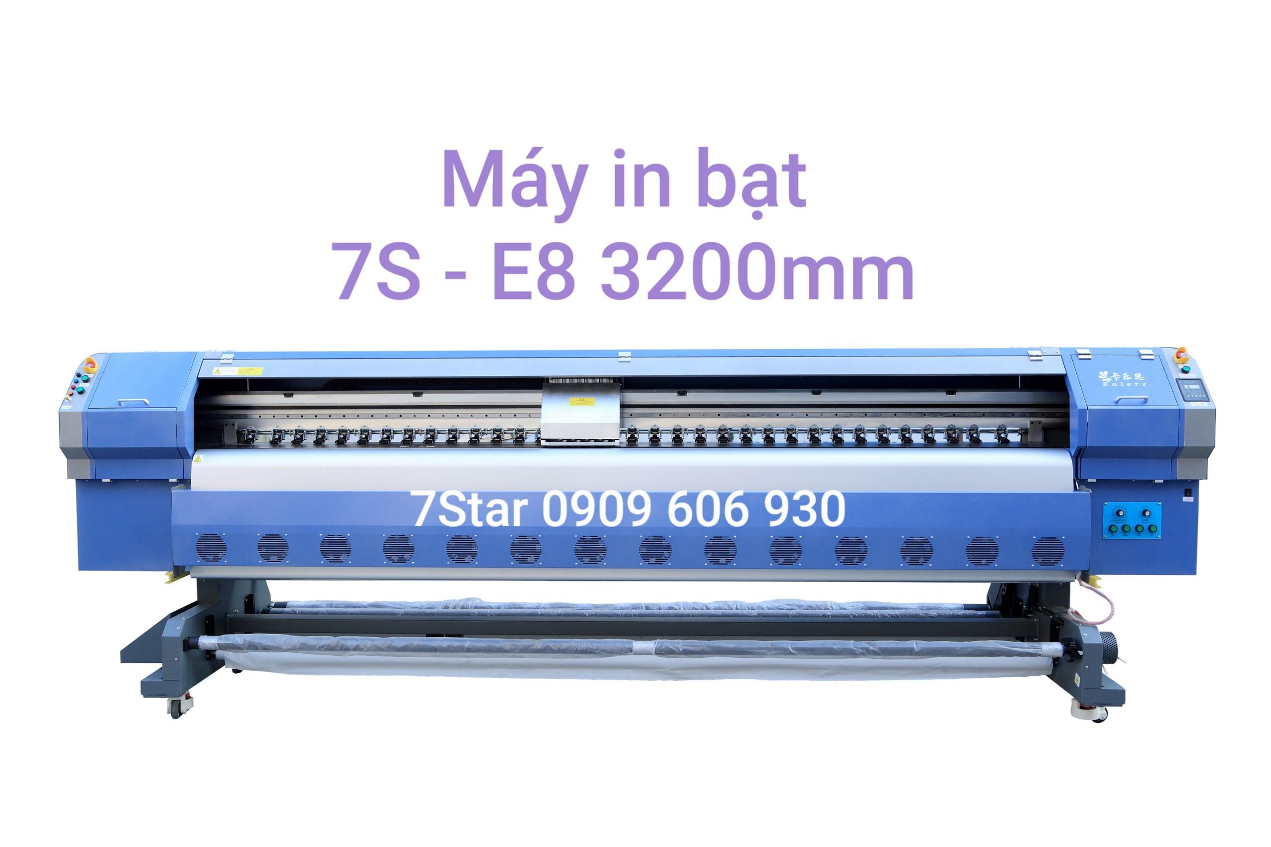 Máy in bạt 7S-E8 3200mm