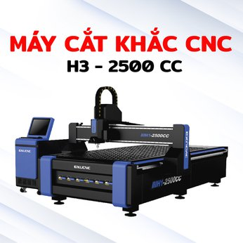 Máy cắt khắc CNC H3 2500 cc