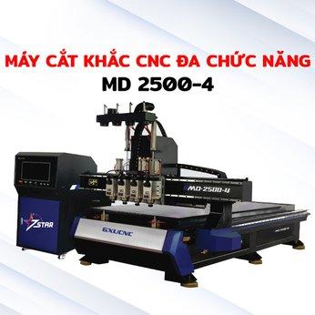 Máy cắt khắc CNC đa chức năng 2500-4