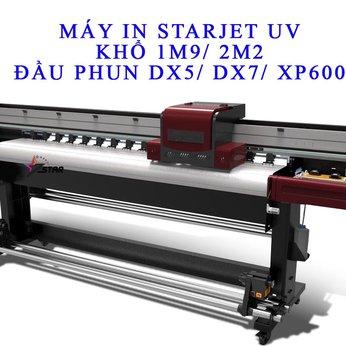 Máy in UV cuộn STARJET 1M9 2M2