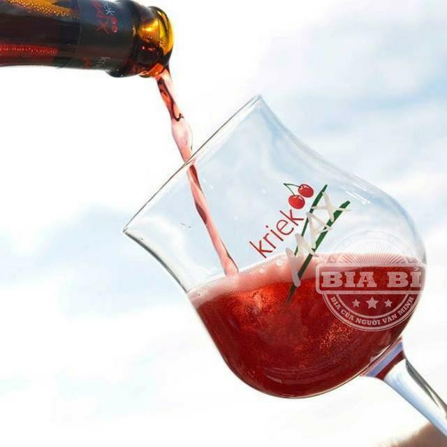 Bia Cherry Ngon Nhất Thế Giới Kriek Max 3,5% - Bia Trái cây Bỉ.