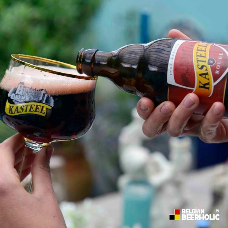 Kho Bia Bỉ số 1 Việt Nam I Bia Đỏ Thủ công nhập khẩu KASTEEL ROUGE 8%