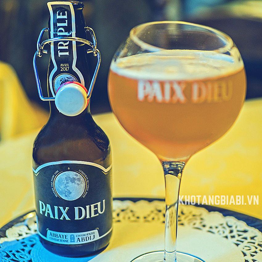 Bia Nữ tu Bỉ Paix Dieu – Dòng bia vàng Tripel 10% ABV của tu viện Amay (Bỉ) - Chỉ ủ vào mỗi dịp trăng rằm