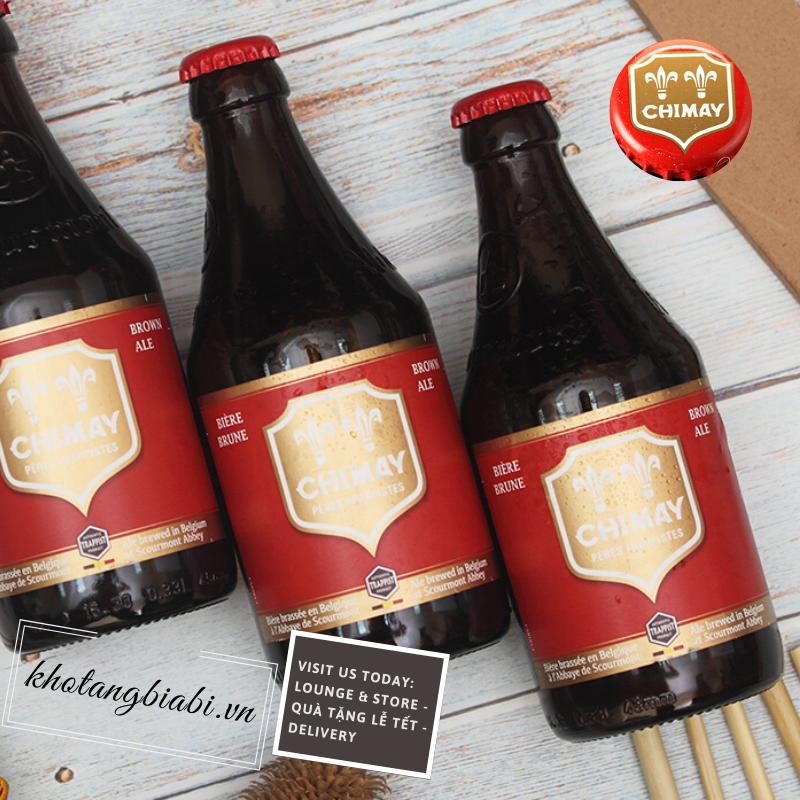 Bia thầy tu Chimay Red Trappist 7,0% I Kho Tàng bia Bỉ.vn