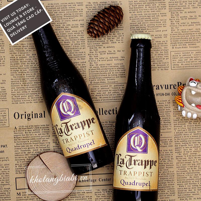 Bia thầy tu La Trappe Quadrupel 10% I Bia Quadrupel đầu tiên trên thế giới!