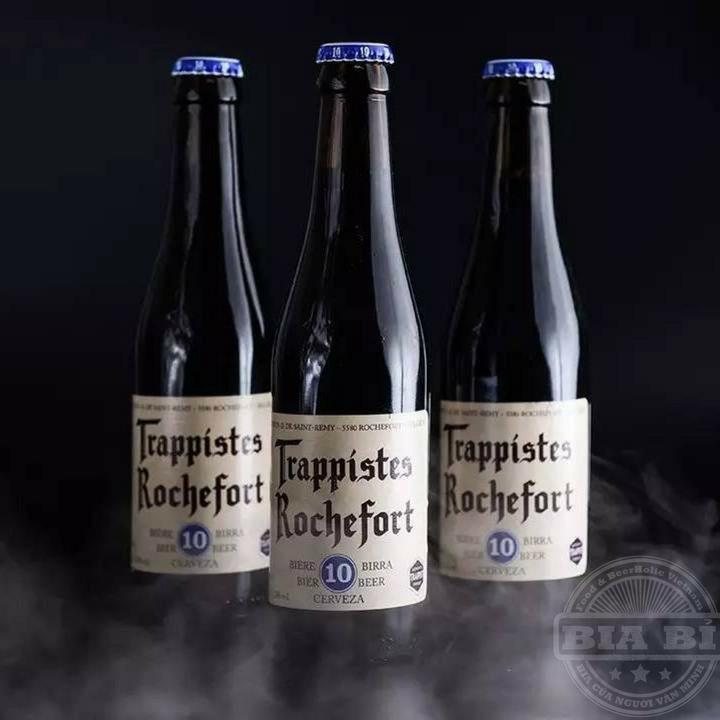 Bia Thầy Tu Trappist Bỉ Rocherfort 10 – Một trong những dòng bia đen nặng độ nổi danh hàng đầu thế giới!.