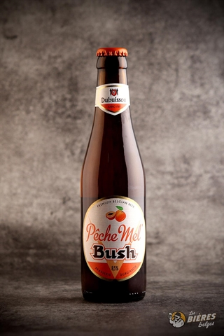 Pêche Mel' Bush 8,5% IBU 16 I Bia trái cây Bỉ nặng độ hương vị đào