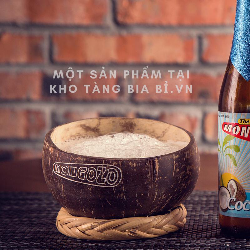 """Bia trái cây Bỉ vị Dừa Mongozo Coconut 3,6% I """"Cho tôi một gáo bia dừa!"""""""