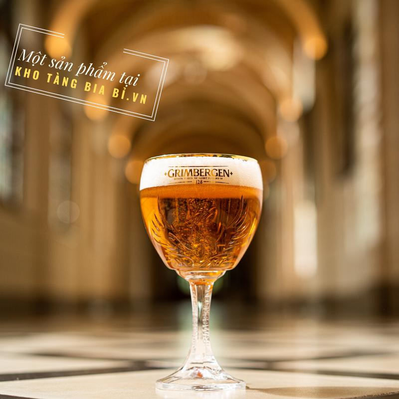 Bia Tu viện Bỉ Grimbergen Tripel 9% ABV– Dòng bia Trung cổ với hơn 900 năm lịch sử.