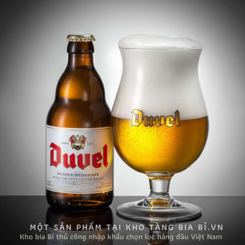 DUVEL 8,5% I Độ đắng 32 IBU - Bia vàng truyền thống của Bỉ từ năm 1871....