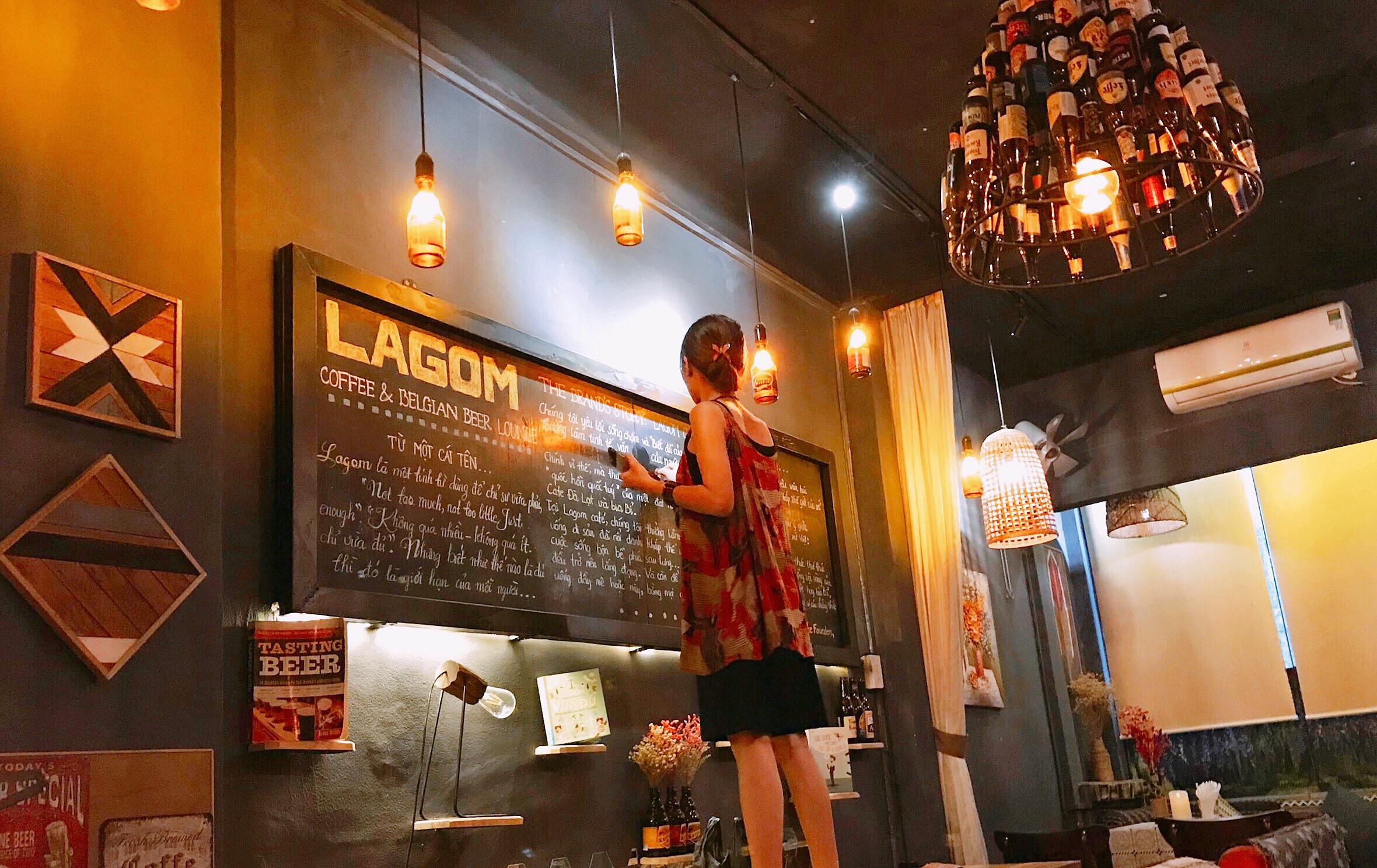 Câu chuyện thương hiệu Lagom Cafe