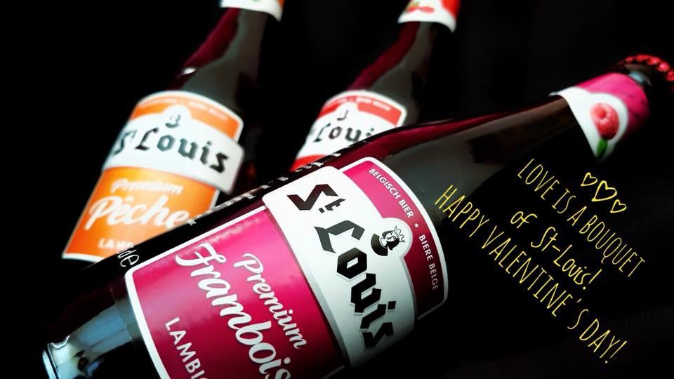 Bia Trái cây St Louis Premium Framboise 2,8% I Bia trái cây vị phúc bồn tử cao cấp từ Bỉ