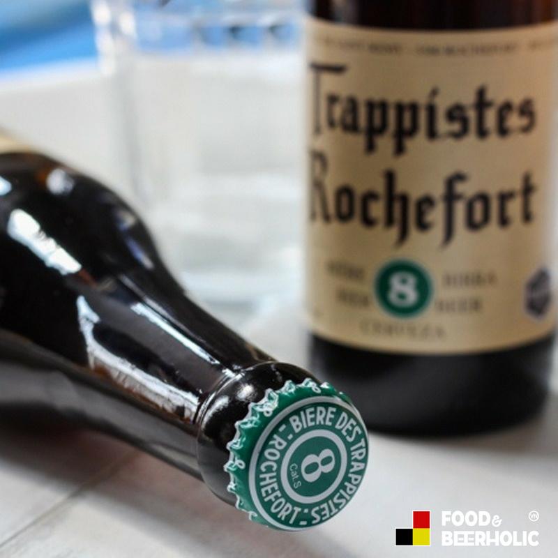 Bia Thầy Tu Trappist Bỉ Rocherfort 8, bia đen nặng độ 9,2% - Bí mật đến từ tu viện Bỉ.