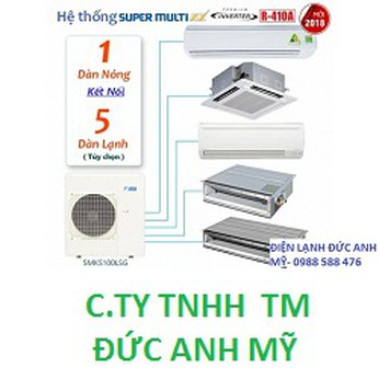 Máy Lạnh Daikin Super Multi NX–5MKS100LSG