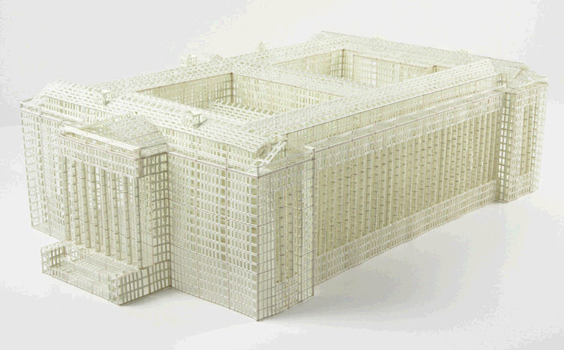"""Nhiều kiến trúc sư đã khéo léo che đi các đặc tính """"khó chuộng"""" của giấy"""