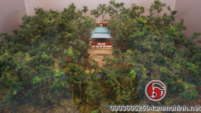 Về hình thức luôn quan trọng nhưng kết cấu bên trong cần phải đảm bảo tính bền vững - Mô hình đền thờ bác Hồ tại Cà Mau sau 12 năm vẫn luôn như mới