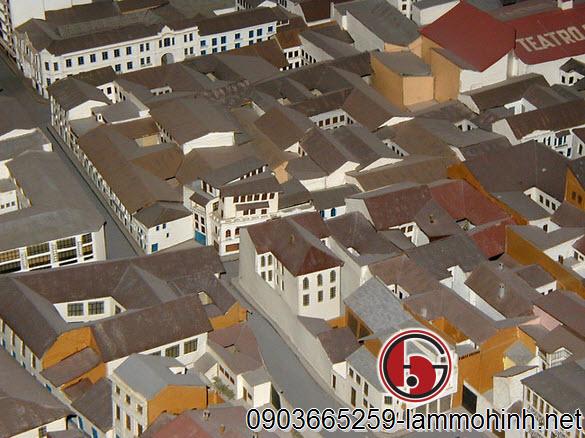 Những con đường dốc và chật hẹp trong các khu nhà