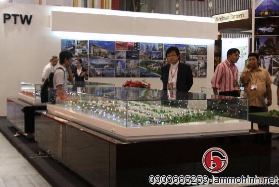 Thành công của công ty làm mô hình kiến trúc khi sản phẩm được trưng bày tại triển lãm