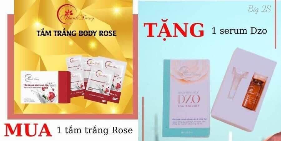 Tắm Trắng Body Cao Cấp Rose Thanh Trang