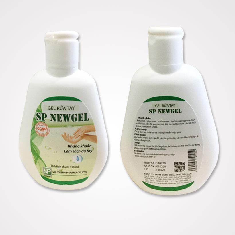Dung dịch rửa tay sát  khuẩn diệt vi rút SP NEWGEL