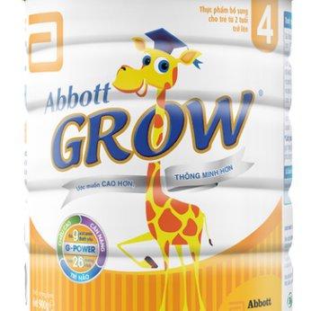 Sữa Abbott Grow 4 900g ( Trẻ trên 2 tuổi)