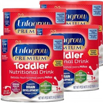 Combo 4 Lon Sữa Enfagrow Premium Toddler Nutritional tiết kiệm 61,000đ