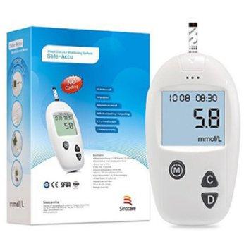 Máy đo đường huyết Sinocare Accu-Safe 199k
