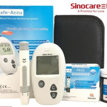 Máy Đo Đường Huyết Sinocare Safe Accu 98k