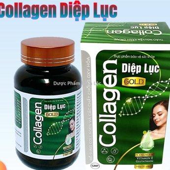 Viên Uống Trắng Da Toàn Thân Diệp Lục Collagen