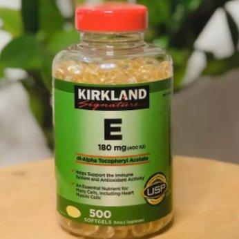 Viên Uống Đẹp Da Vitamin E