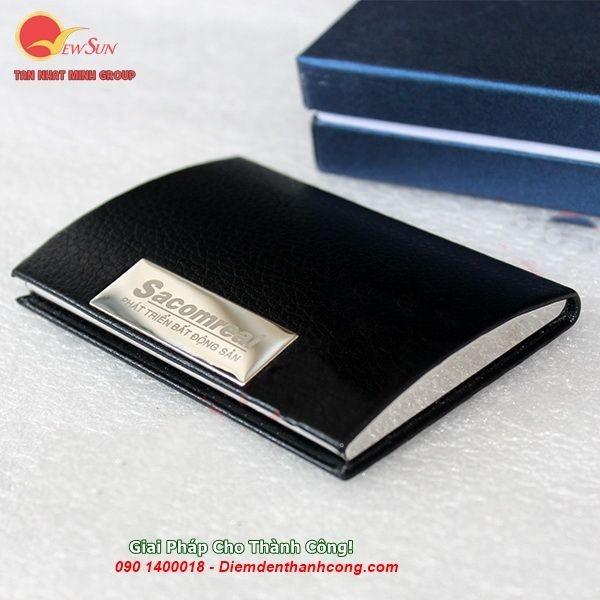 ** Nhập khẩu [ Hộp đựng name card vip ] Khắc logo công ty - 0901460008