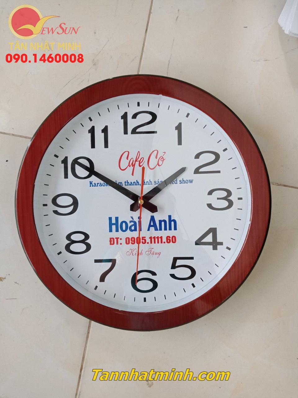sản xuất đồng hồ treo tường, Nhận đặt tối thiểu >200 cái, 22cm-3