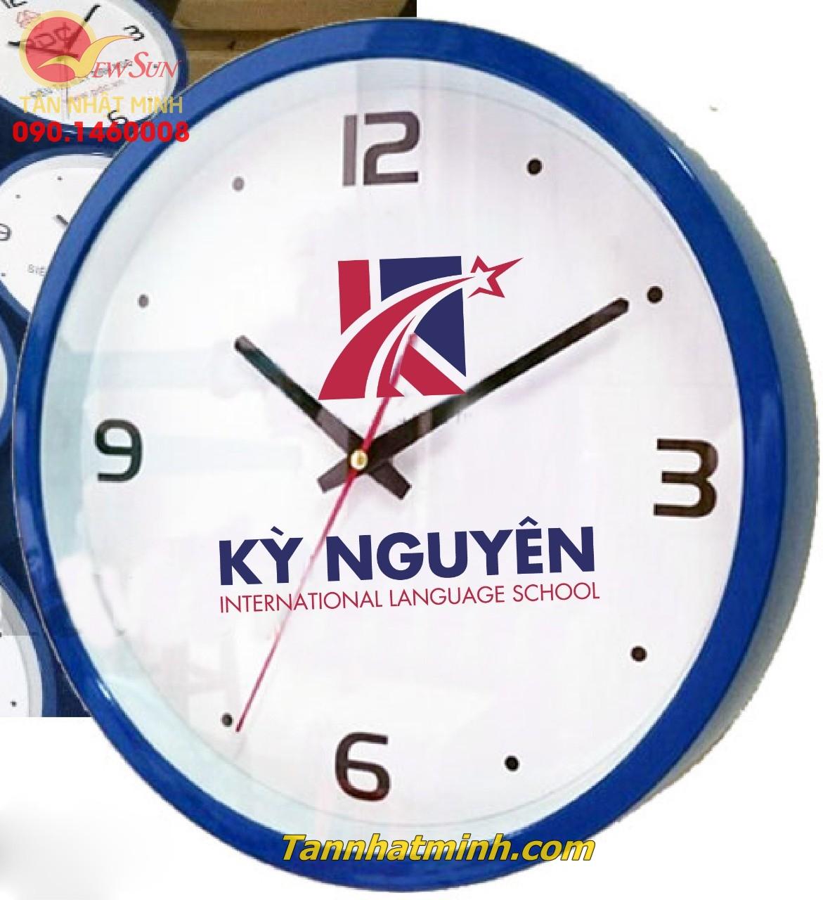 Làm đồng hồ treo tường, Nhận đặt tối thiểu >200 cái, 22cm-4