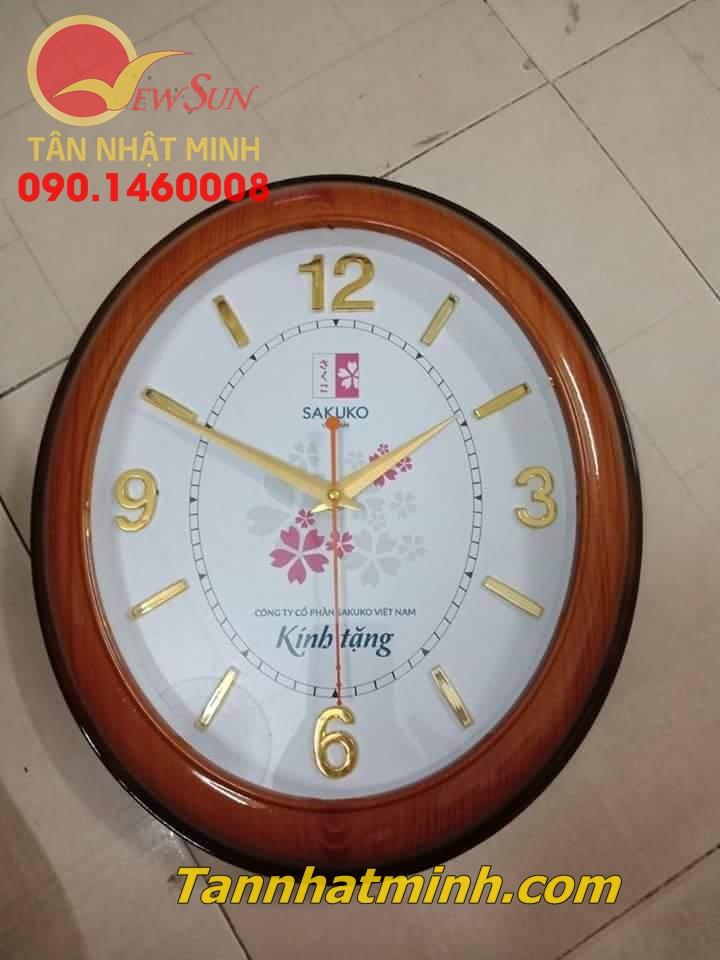 Làm đồng hồ treo tường, Nhận đặt tối thiểu >200 cái,  22cm-5