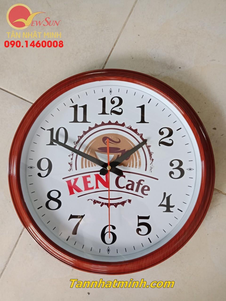 Làm đồng hồ treo tường, Nhận đặt tối thiểu >200 cái,  22cm-6