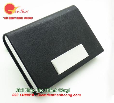 ** Nhập khẩu [ Hộp đựng name card hcm ] Khắc logo công ty - 0901460008