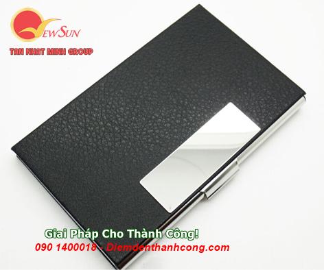 ** Nhập khẩu [ Hộp đựng name card ] Khắc logo công ty - 0901460008