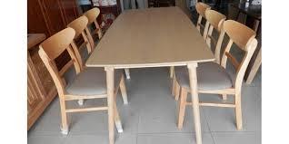 Bàn ghế ăn Mango 1m2 (4 ghế)