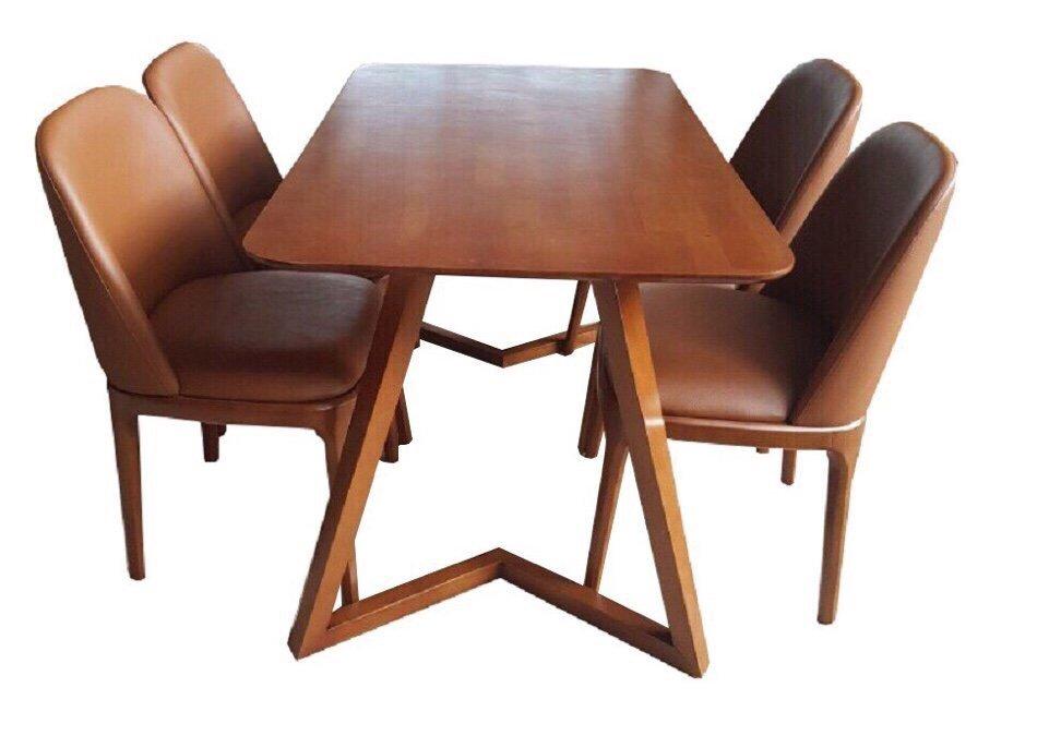Bàn ghế ăn Grace 1m2 (4 ghế)