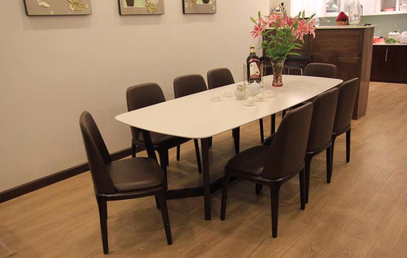 Bàn ghế ăn Grace 1m6 (8 ghế)